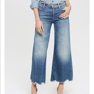 Mother Denim The Stunner Roller Ankle Chew